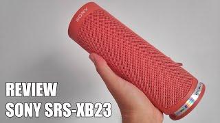 Review Sony SRS-XB23 Nuevo Altavoz Bluetooth inalambrico 2020
