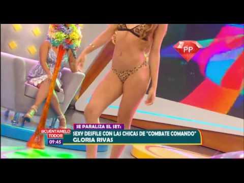 Michela, Allison y Ximena en Sexy Desfile de Bikinis