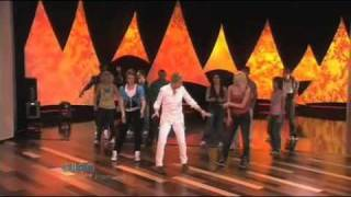 Ellen Dances with So You Think You Can Dance Top 10 dances on her show