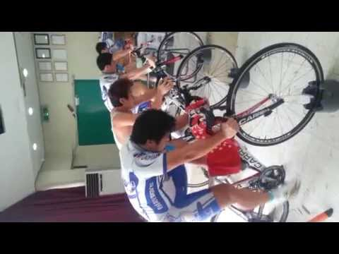 Ulsan City Cycling Team training with POWERbreathe