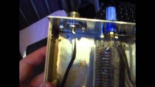 antenna tuner homebrew T match amateur radio