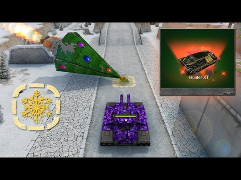 Tanki Online Christmas Gold Boxes Montage #2 | Opening Containers! Juggernaut! Challenges