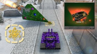 Tanki Online Christmas Gold Boxes Montage #2   Opening Containers! Juggernaut! Challenges