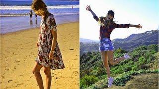 Лос-Анджелес ♥ Пляж и Знак Голливуда