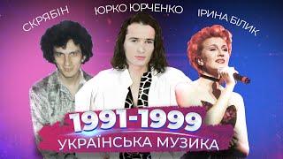 КАК МЕНЯЛАСЬ УКРАИНСКАЯ МУЗЫКА 90 е   УКРАЇНСЬКА МУЗИКА 1991 1999  ТЕРИТОРІЯ А ВУЗВ АКВА ВІТА