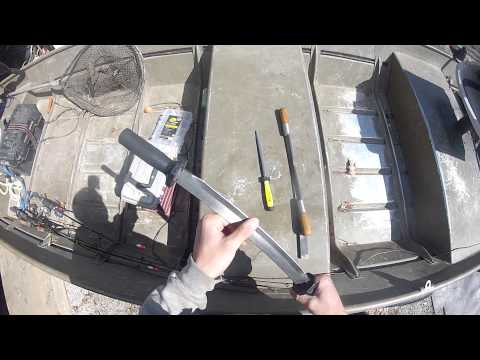 Fleshing Knife Sharpening and Maintenance