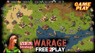 Warage ★ Gameplay ★ PC Steam [ Free to Play ] PvE/PvP RTS strategy Game 2021 ★ 1080p60FPS screenshot 3