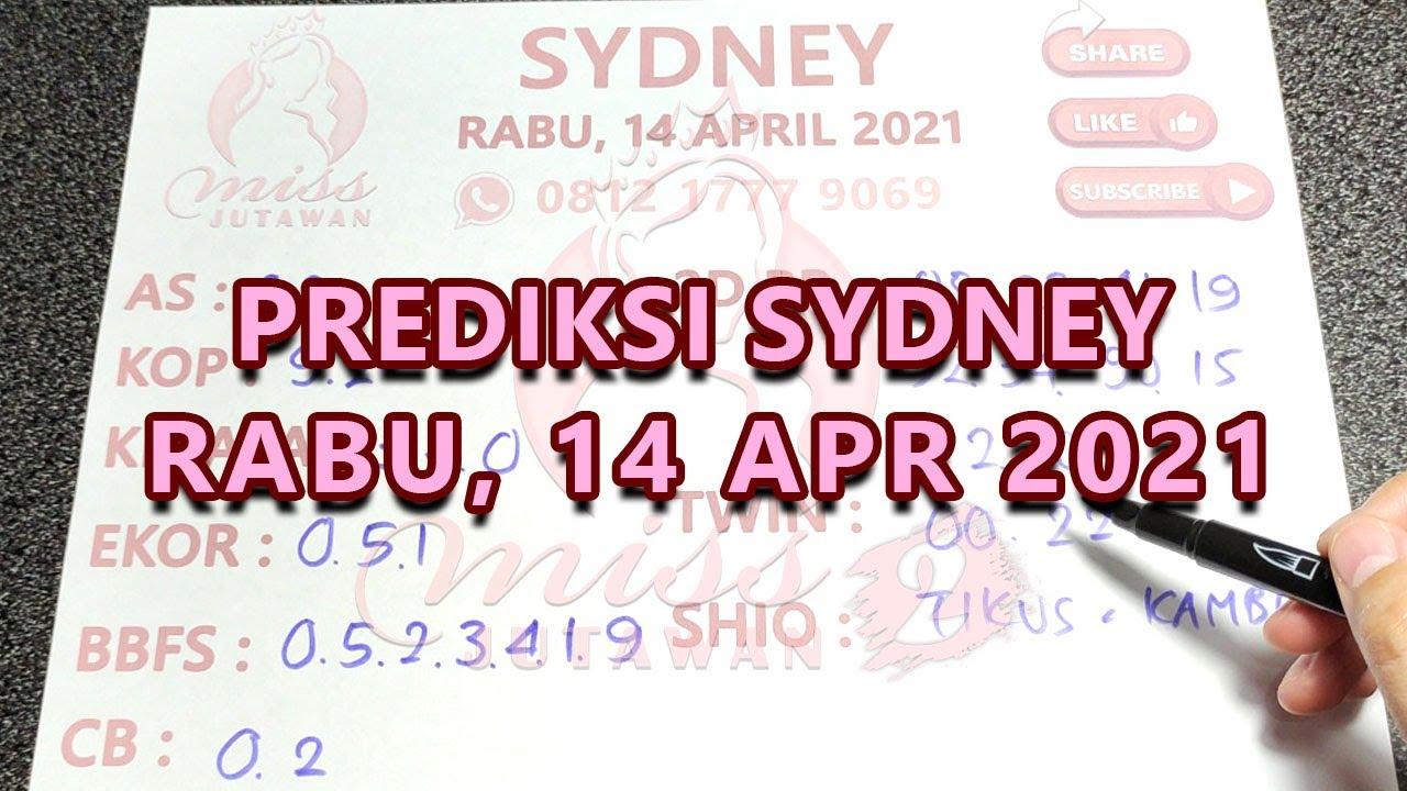 Prediksi Tarikan Paito Sydney Rabu 14 April 2021 | Rumus Sydney , SDY Jitu