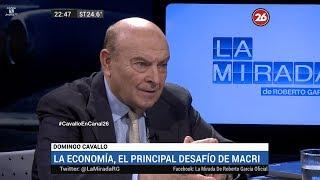 """Domingo Cavallo en """"La mirada"""", de Roberto García - 12/03/18"""