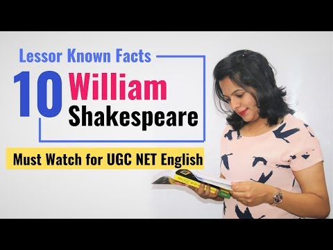 Little known facts about Shakespeare which can help you crack NET