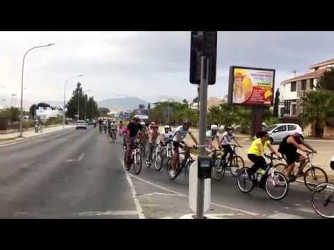 Cyprus Nicosia Mobility Week Bike Tour 19/9/2015