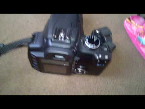 Canon EOS 350D how to repair CF Card Error 99 broken pin in 3 minute