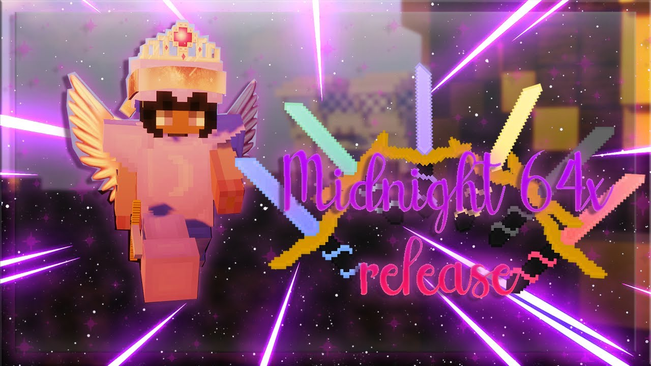 Midnight 64x pack 700 subs release // Solo Bedwars