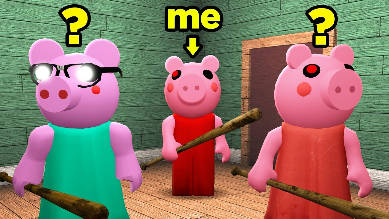 Disguising As Piggy In Infection Youtube