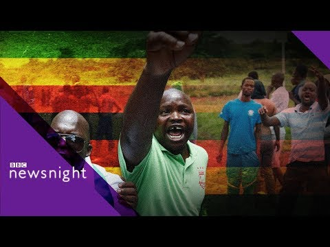 Zimbabwe crackdown: 'Nothing has changed' - BBC Newsnight