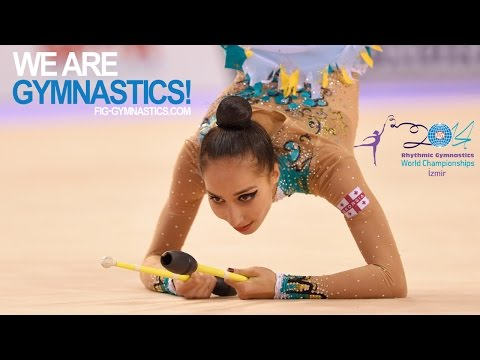 HIGHLIGHTS - 2014 Rhythmic Worlds, Izmir (TUR) - All-around 13-24 - We are Gymnastics!