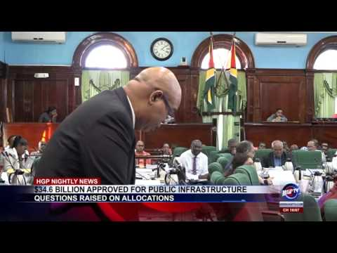 $34 6 BILLION APPROVED FOR PUBLIC INFRASTRUCTURE