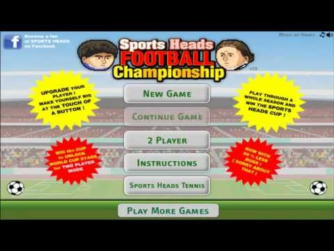 Gameplay: Sports Heads Football Championship - Multiplayer [HD]