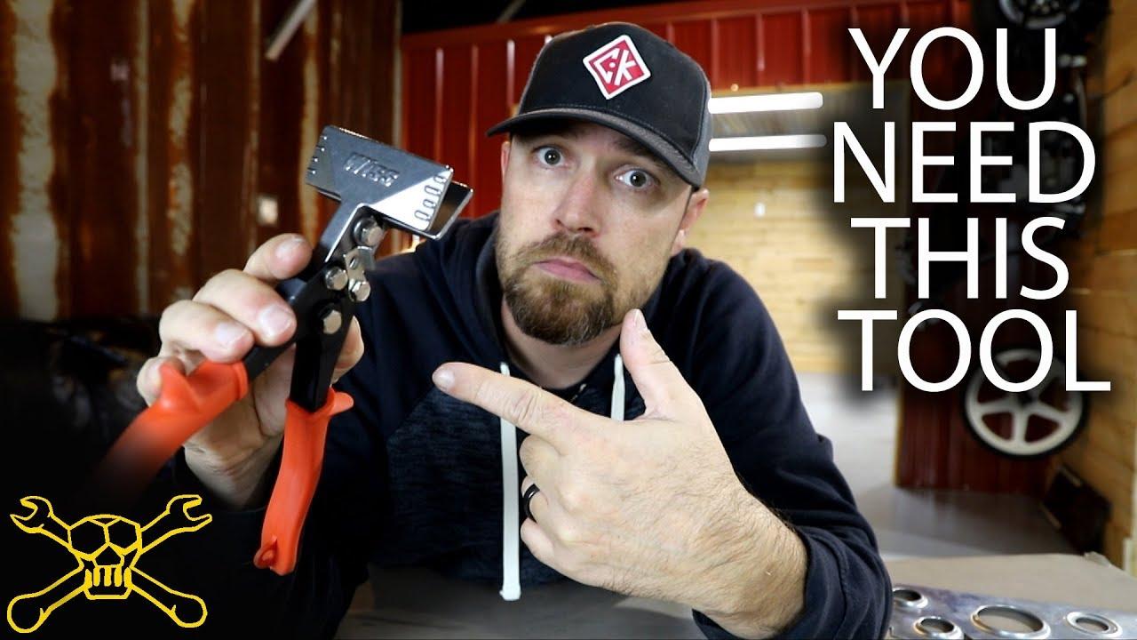 You Need This Tool Episode 115 Sheet Metal Hand Seamer Metal Brake Youtube