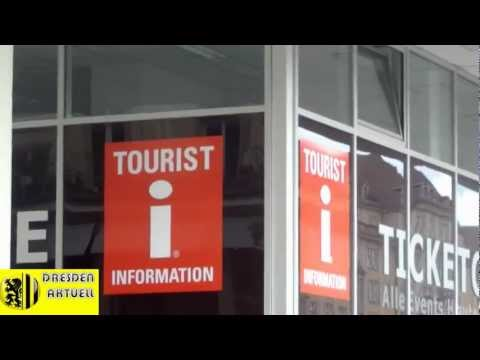 Dresdner Tourist-Info am neuen Standort
