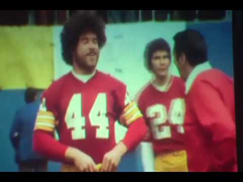Washington Redskins John Riggins Joe Gibbs and Joe Theismann