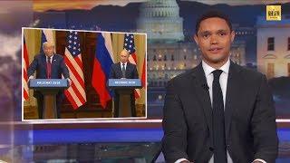 Телевидение США высмеяло Трампа после Хельсинки: заступаться за Путина было дикостью