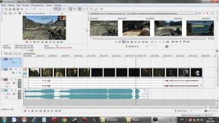 Видеоуроки по работе с программой Sony Vegas Pro 10.0:Часть-3:Работаем с видео