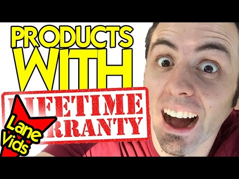 BEST PRODUCTS WITH A LIFETIME WARRANTY