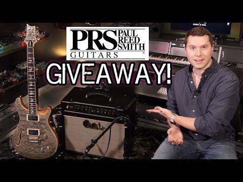 PRS Guitar & Amp GIVEAWAY!