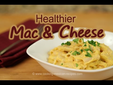 Healthy Mac And Cheese Recipe | Macaroni And Cheese With Butternut Squash | Rockin Robin Cooks