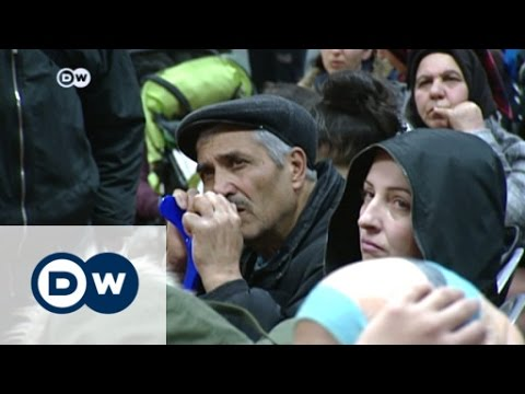 Exhausting wait for refugees in Berlin | DW News