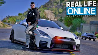 1000 PS POLIZEI GT-R! - GTA 5 Real Life Online