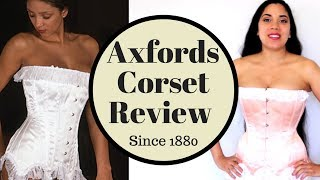 Axfords Peach Vintage Overbust (C140) Review!   Lucy's Corsetry
