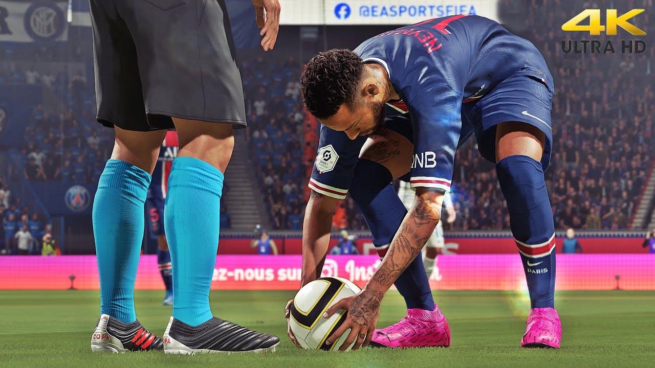 FIFA 21 - Top 7 Free Kicks Goals [PS5] 4K