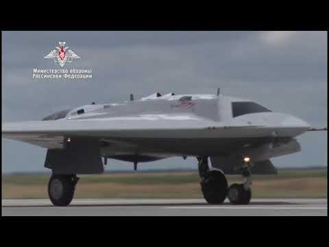 Russia's Top Secret Heavy Strike Stealth Drone Takes Flight