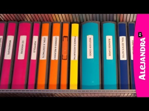 Binder Organization - Best Binders & Dividers to Use for Home Office or School Papers