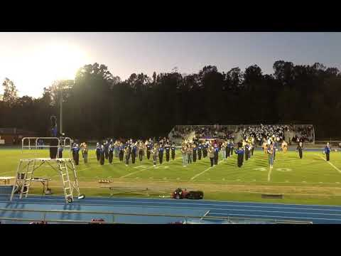 BANKS COUNTY HIGH SCHOOL LEOPARDS MARCHING BAND FEAT. 8TH GRADERS 2015 OCTOBER 16