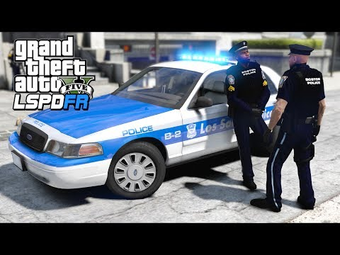 GTA 5 Mods - So I patrolled with a partner, and... (LSPDFR Gameplay)