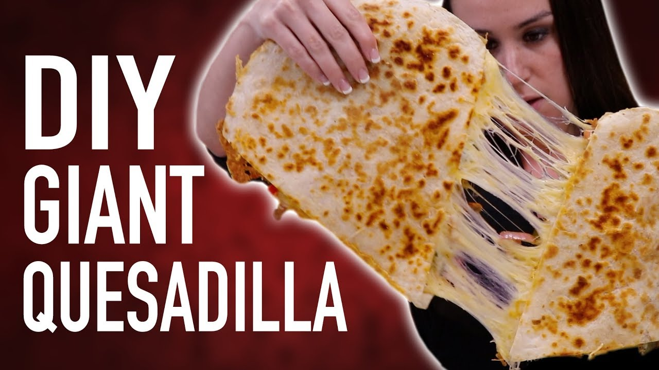 diy-giant-quesadilla-eating-competition