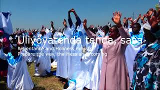 ULIYOTENDA BABA TENDA SASA -(LORD WHAT YOU DID, DO IT AGAIN)  ----.LATTER REVIVAL WORSHIP