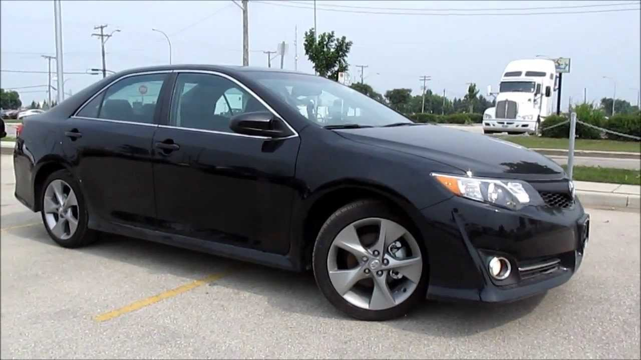 2013 Toyota Camry SE Smart Key Access Demo and Push Button Start ...