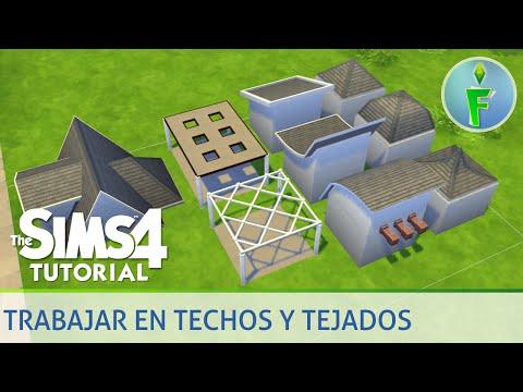 Los sims 4 construcci n con habitaciones predise adas for Casa moderna lyna