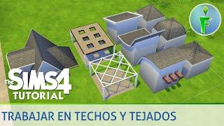Trabajando con techos y tejados en Los Sims 4 - Tutorial