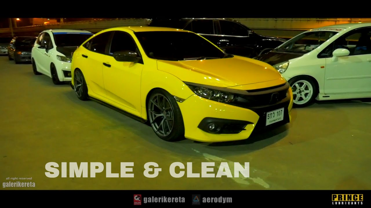 Honda Civic FC RS - Simple and Clean Ride - YouTube