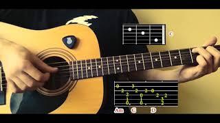 Как играть Johnny Cash Hurt на гитаре АККОРДЫ ТАБЫ и схема боя OST Logan Логан