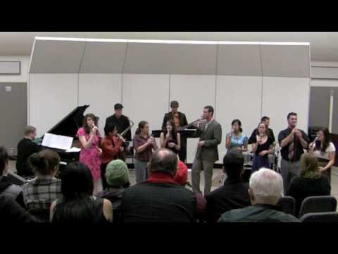 "Sac State Jazz Singers ""The World Keeps You Waiting"""