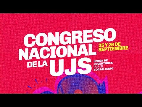 Sumate al Congreso Nacional de la UJS // 25 y 26 de Septiembre