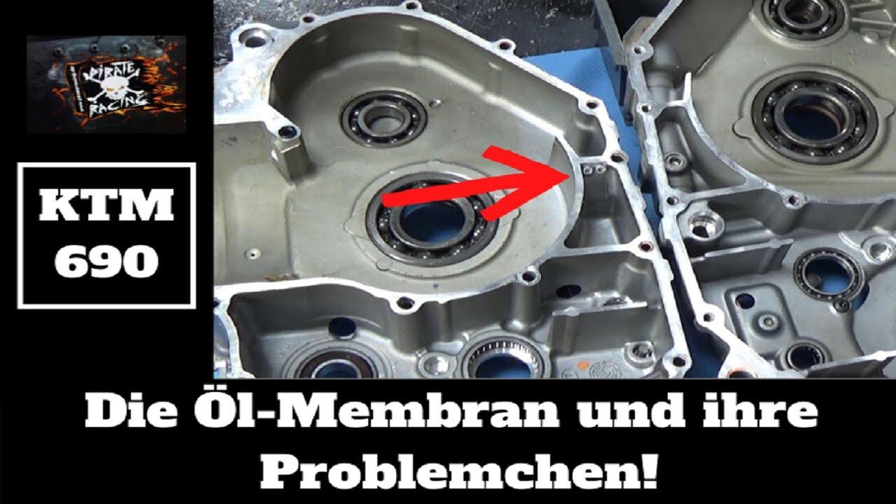 KTM 690 Modelle.  Der Ärger mit der Rückschlag-Membran. Der👹steckt im Detail☝