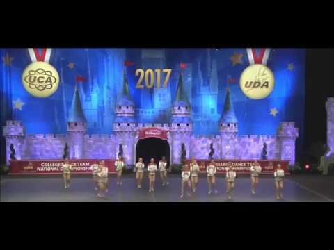 2017 UDA D1A Pom Finals - The Ohio State University