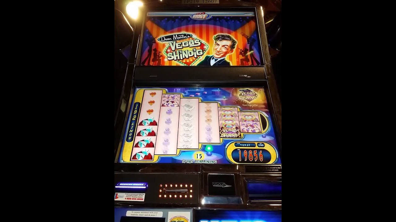 dean martin slot machine